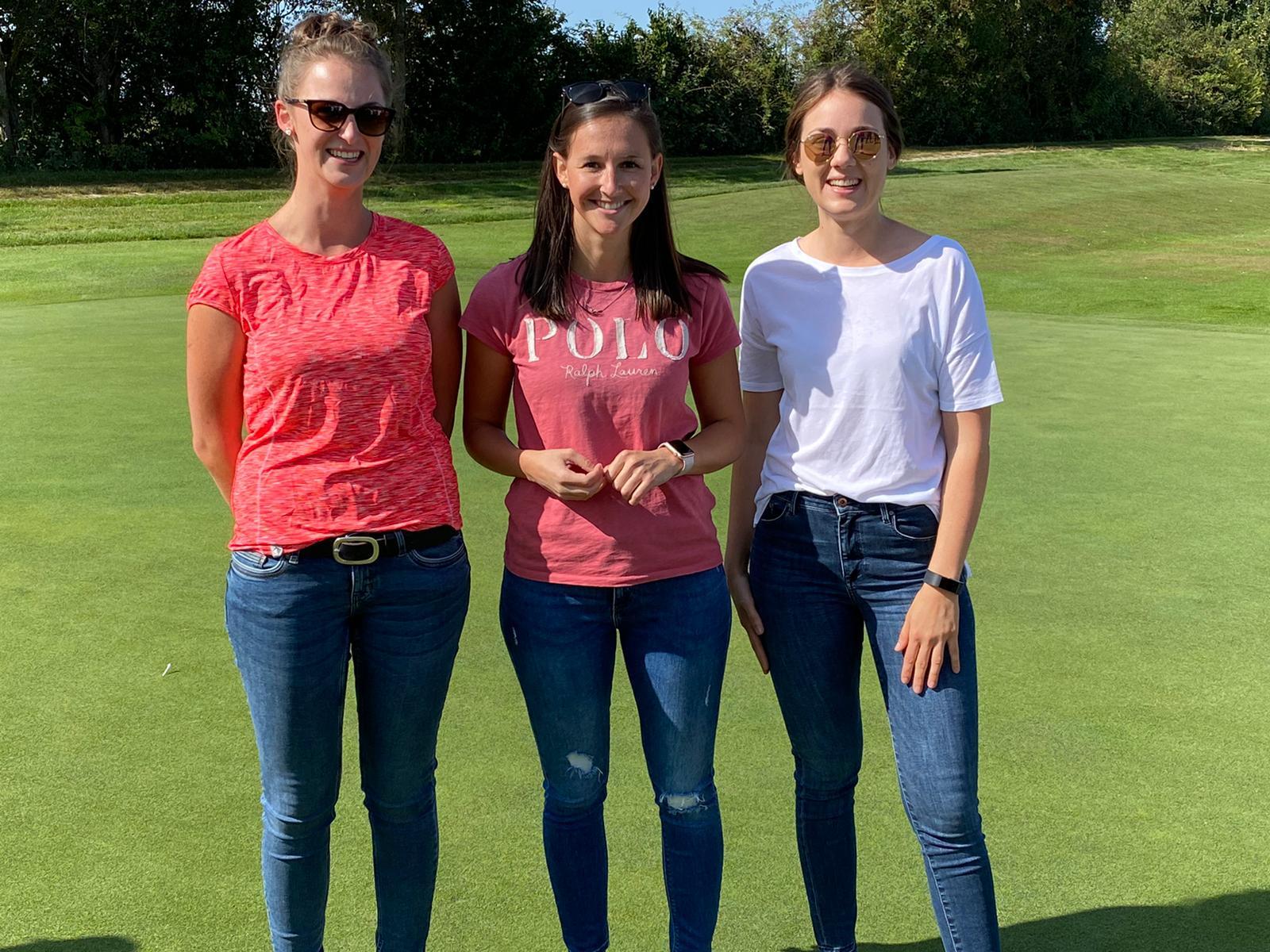 Wir gratulieren herzlich den 3 glücklichen Siegerinnen!